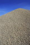 Gray gravel mound mountain concrete making Royalty Free Stock Photography
