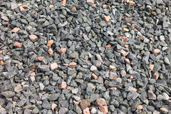 Gray gravel texture Stock Images
