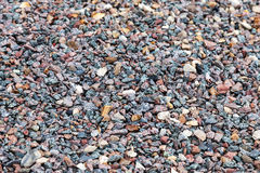Gray gravel texture Royalty Free Stock Image