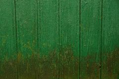 Gray green background of wooden fence boards Stock Photography
