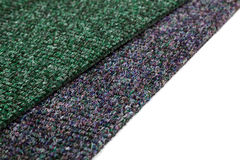 A gray and green carpet Royalty Free Stock Photo