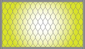 Gray grid Royalty Free Stock Image