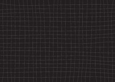Gray Grid Black Background Fotografia Stock