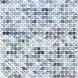 Gray Grid Mosaic Background, Creative Design Templates. Royalty Free Stock Photos