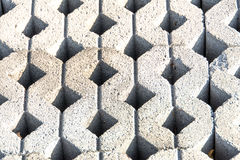 Gray Ground block background Stock Images