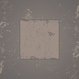 Gray grunge background frame Stock Images
