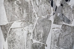 Gray Grunge Paper Wall Texture Stock Photography