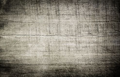 Gray grunge scratched wooden cutting, chopping board. Wood texture. Royalty Free Stock Photos