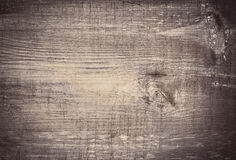 Gray grunge scratched wooden cutting, chopping board. Wood texture. Stock Image