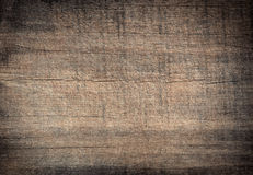 Gray grunge scratched wooden cutting, chopping board. Wood texture. Stock Images