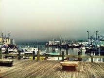 Gray harbor Stock Photo