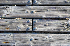 Gray hardwood planks texture or background. Stock Photo