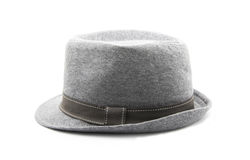 Gray hat Royalty Free Stock Photography