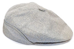 Gray hat for men Royalty Free Stock Photography