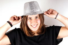 Gray hat Stock Photography