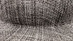 Gray hat texture abstract background. A gray hat texture abstract background Royalty Free Stock Photography