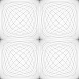 Gray hatched squared forming grid Royalty Free Stock Photos