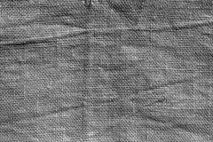 Gray hessian sack cloth texture. Royalty Free Stock Photo