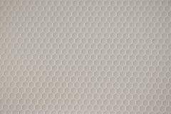 Gray Hexagon Pattern in Gevormd Plastiek stock fotografie