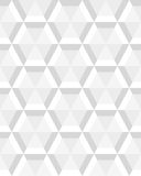 Gray hexagon seamless. Geometric gray hexagon seamless pattern Royalty Free Stock Photography