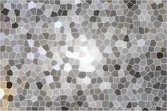 Gray honeycomb pattern background royalty free illustration