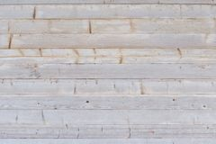 Gray horizontal untreated boards. Texture background.  Royalty Free Stock Photo