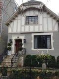 Gray House idoso Fotos de Stock Royalty Free