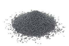 Gray industrial catalyst pellets Stock Photography
