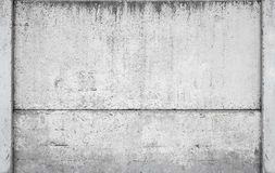 Gray industrial concrete fence background Royalty Free Stock Images