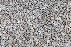 Gray industrial gravel background Stock Photos