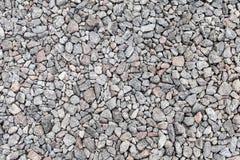 Gray industrial gravel background Stock Photos
