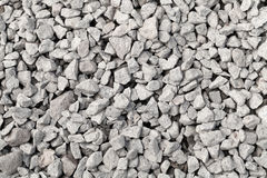 Gray industrial gravel background Royalty Free Stock Images