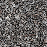 Gray industrial gravel. Seamless background Stock Image