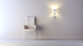 Gray interior Royalty Free Stock Image