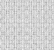 Gray Interlaced Squares Textured Fabric Background Stock Photography