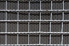Gray iron lattice background stock image