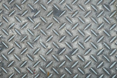 Gray iron plate floor texture. Solid Gray iron plate floor texture Royalty Free Stock Image