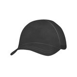 Gray Isolated Hat Illustration Stock Photography