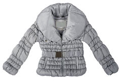 Gray jacket Royalty Free Stock Images