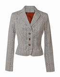 Gray jacket Royalty Free Stock Photos