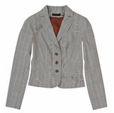 Gray jacket Stock Images