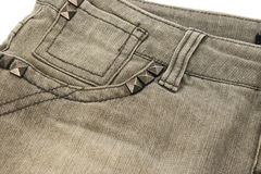Gray jeans Royalty Free Stock Images
