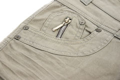 Gray jeans Stock Photo
