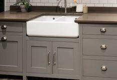 Gray Kitchen Sink Royalty Free Stock Photo