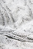 Gray knit texture Stock Photo