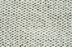 Gray knitted background Stock Photography