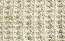 Gray knitted background Royalty Free Stock Photography