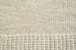 Gray knitted background Stock Photos