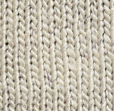 Gray knitted background Stock Image