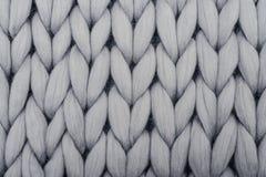 Blanket from merino wool Royalty Free Stock Photo